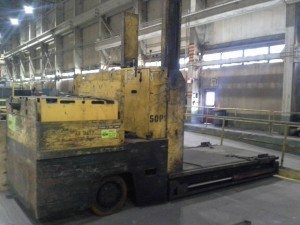 40,000lbs. Used Elwell Parker Die Handler Truck For Sale