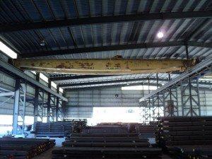 10 Ton P&H Overhead Bridge Cranes For Sale