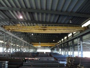 10 Ton P&H Overhead Bridge Cranes For Sale