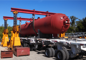 450 Ton J&R Engineering Lift-N-Lock Hydraulic Gantry For Sale