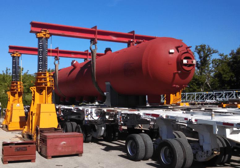 450 Ton J&R Engineering Lift-N-Lock Hydraulic Gantry For Sale