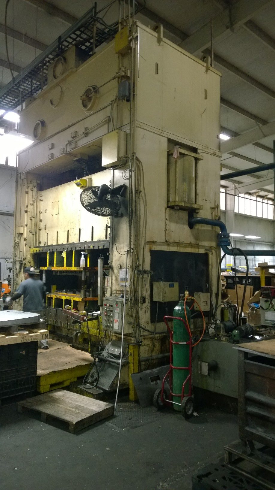 800 Ton Bliss Press For Sale