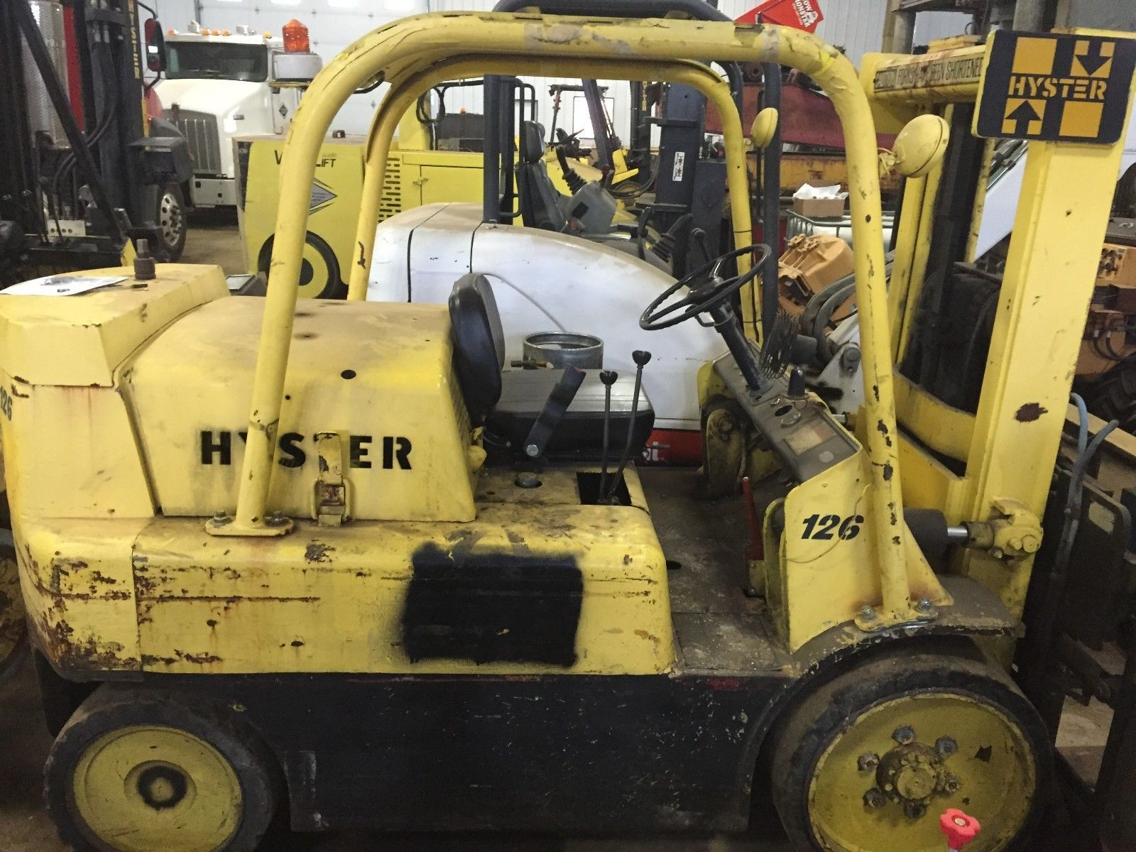 Hyster S150 15,000lb Capacity For Sale