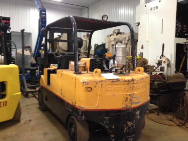 Cat Lift Boom : Lb cat forklift for sale affordable machinery