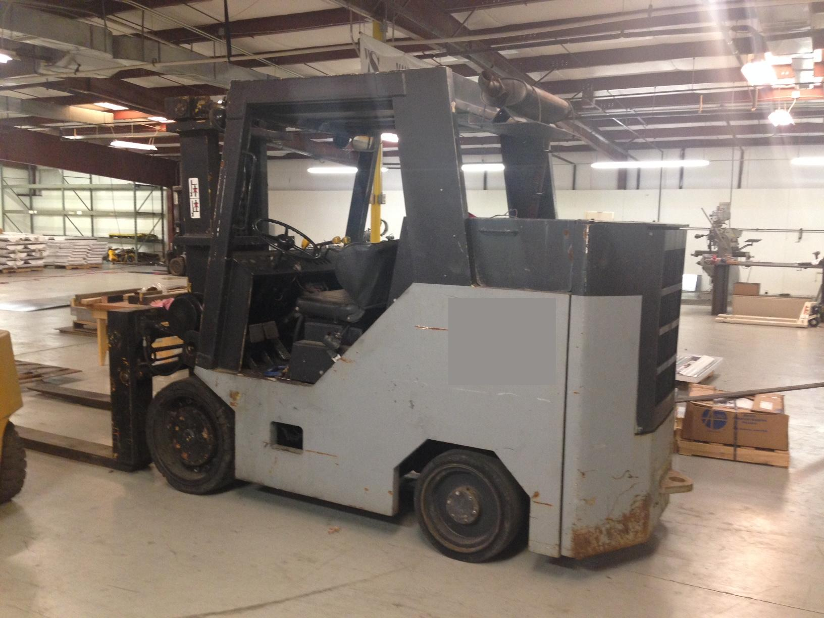 Used E250 Erickson Forklift For Sale