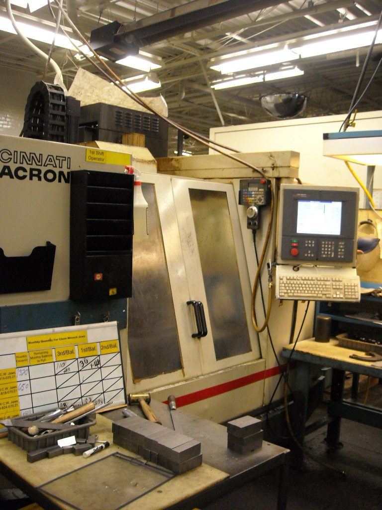 Cincinnati Arrow 750 Machining Center (5)