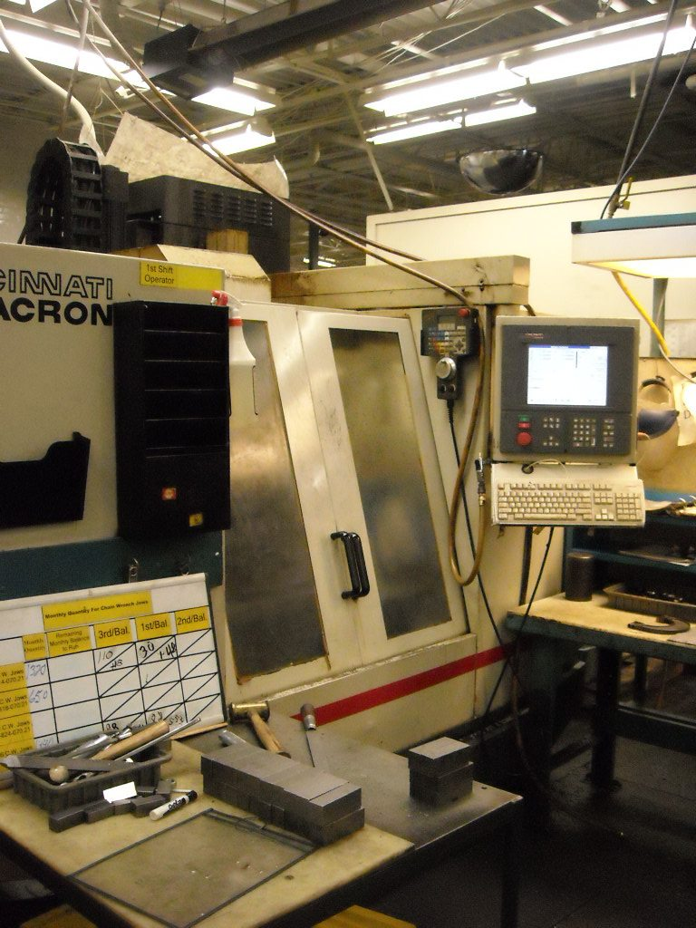 Cincinnati Arrow 750 Machining Center (6)