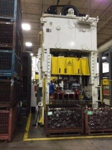 250 Ton Capacity Clearing Straight Side Press 1