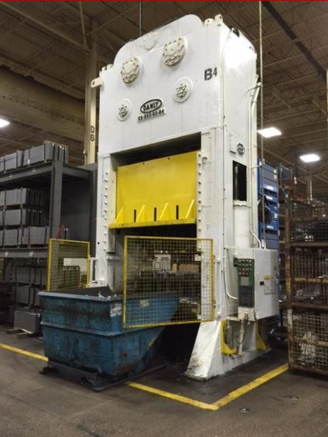 250 Ton Danly Straight Side Press For Sale!