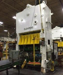 250 Ton Clearing Straight Side Press For Sale 1