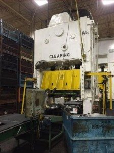 350 Ton Clearing Straight Side Press For Sale!