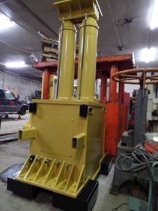 1,000 Ton Lift Systems Hydraulic 48A Gantry Crane For Sale 2500 PSI Model