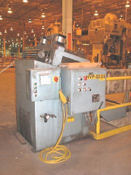 10,000lb. Capacity CWP Straightener Servo Feedline For Sale (5)