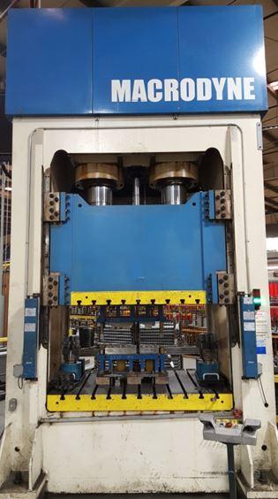 400 Ton Hydraulic Macrodyne Stamping Press For Sale