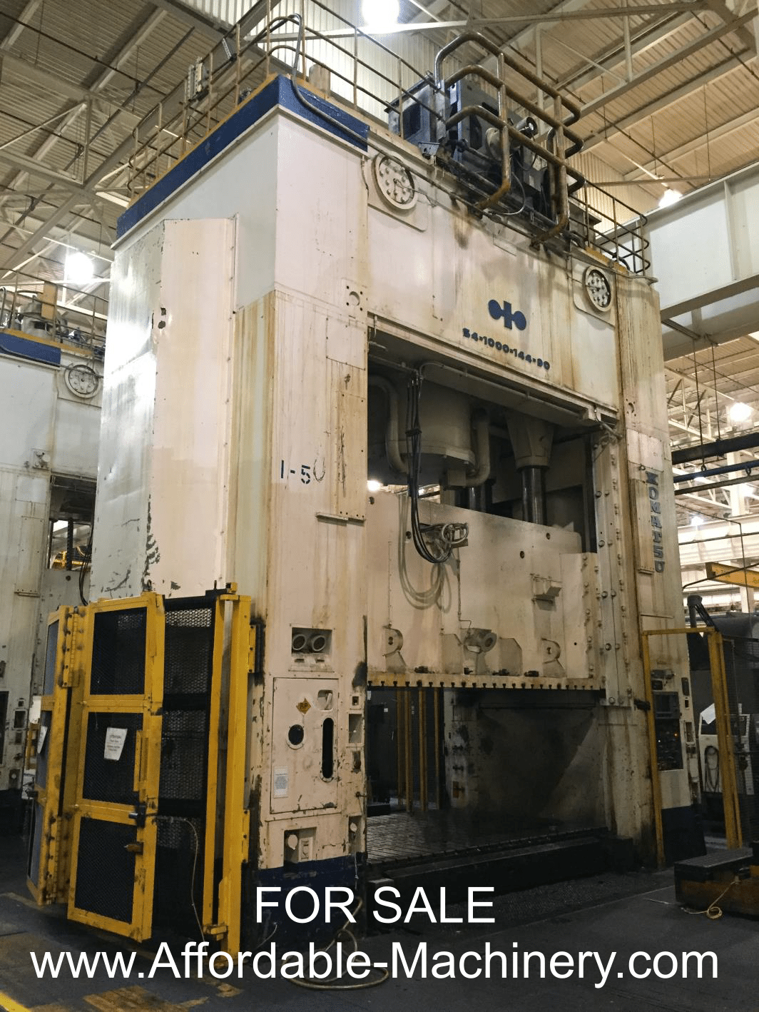 1000 Ton Komatsu Straight Side Stamping Press For Sale