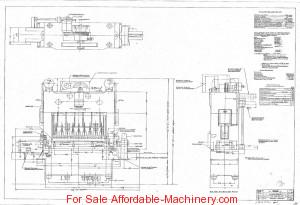 1,600 Ton Capacity Verson Straight Side Press For Sale (1)