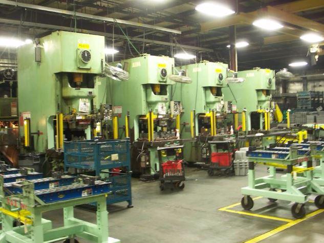 165 Ton Aida Single Point Gap Frame Press 2