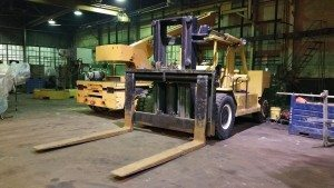 80,000lb. Capacity Bristol RS-80 Forklift For Sale 40 Ton
