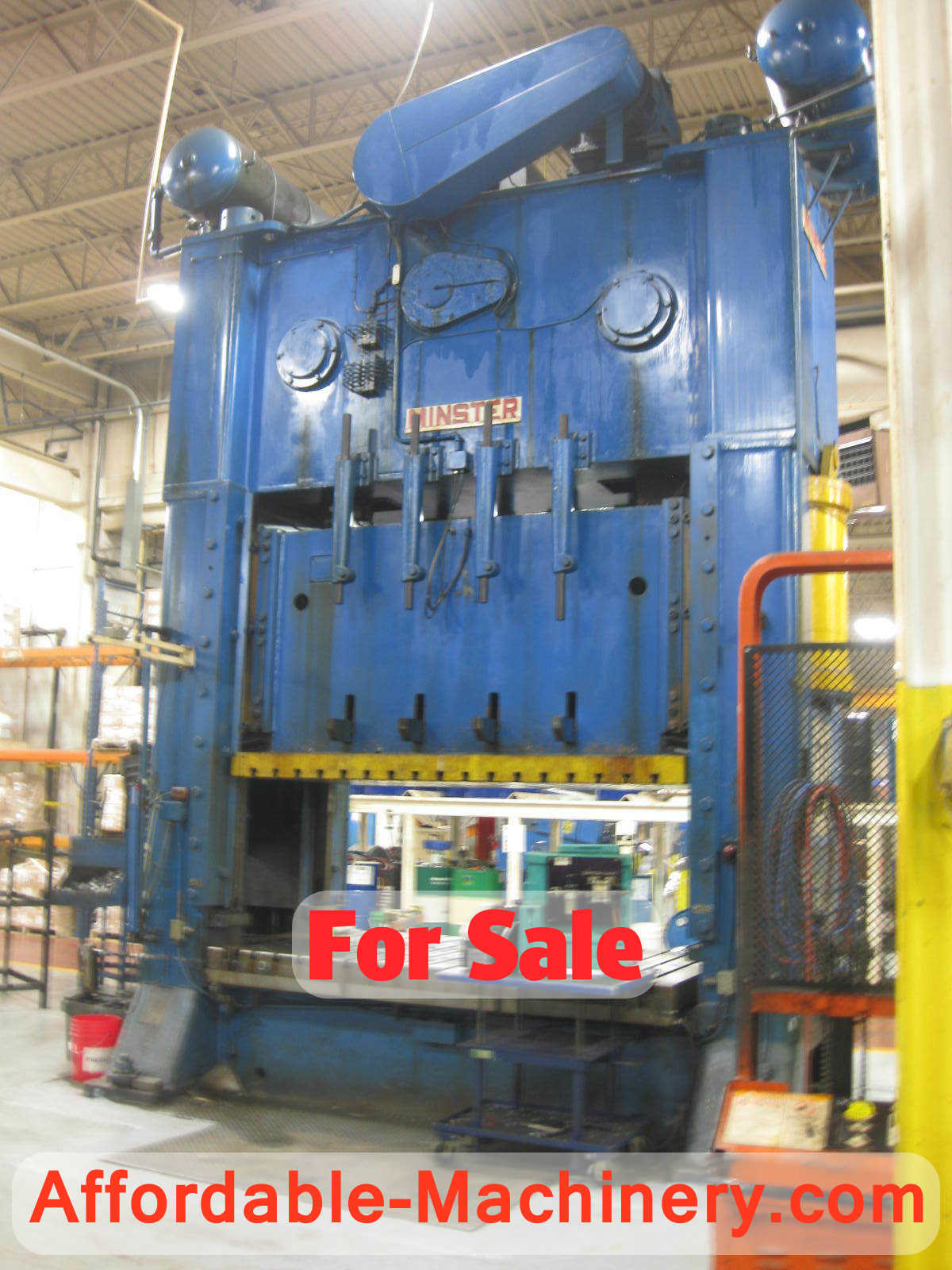 500 Ton Minster Metal Stamping Punch Press For Sale   Call 616-200
