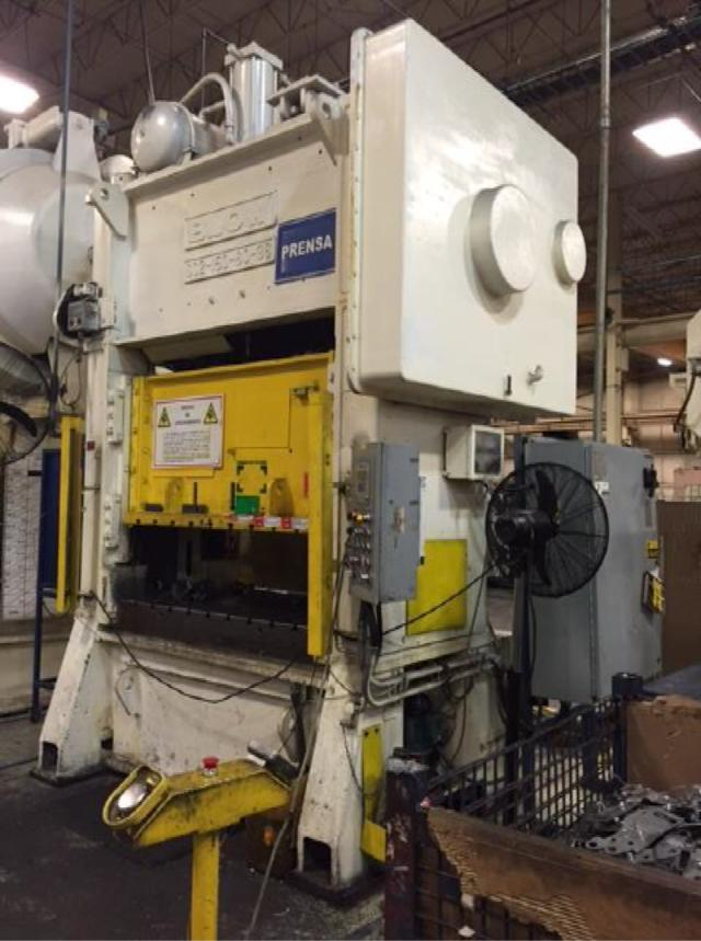 150 Ton Blow Stamping Press For Sale