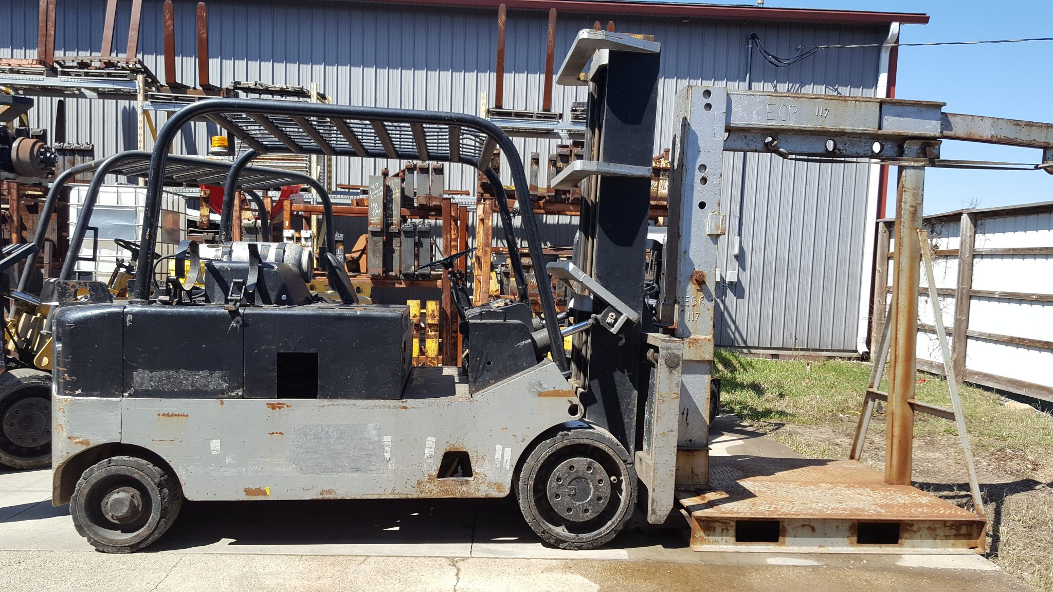 Used Cat Hard Tired Forklift For Sale