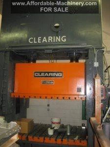 350 Ton Capacity Clearing Straight Side Press (1)