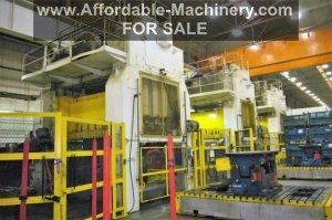 700 Ton Rovetta Single-Action Press Line For Sale