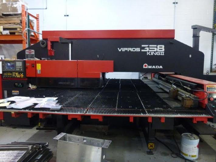 Amada Model Vipros 358 King II CNC Turret Punch For Sale