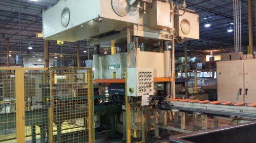 400 Ton PH 4 Post Hydraulic Press For Sale