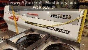 Used Haas Servo Bar Feeder 300 For Sale 1