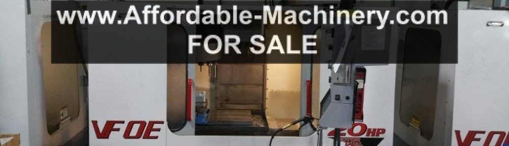 Used Haas VF-0E CNC Mill For Sale