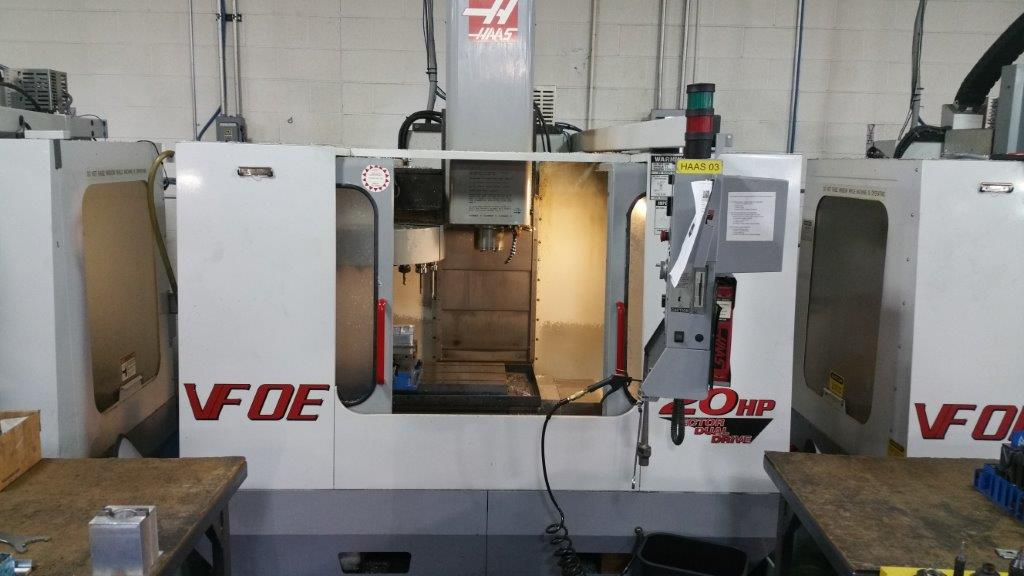 Cnc Mill For Sale >> Used Haas Vf 0e Cnc Mill For Sale 15 000rpm Call 616 200