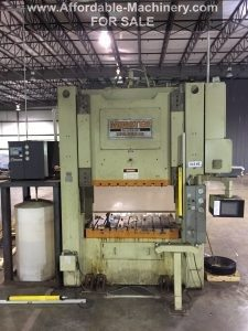 250 Ton Minster Tranemo Press For Sale