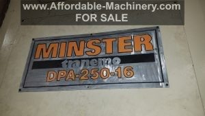 250 Ton Minster Press For Sale (3)