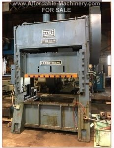 100 Ton Capacity USI Clearing Press For Sale
