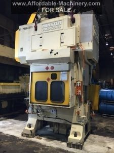 125 Ton Capacity Minster Piece-Maker Press For Sale