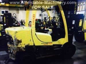 15,500lb. Capacity Hyster Forklift For Sale 7.75 Ton