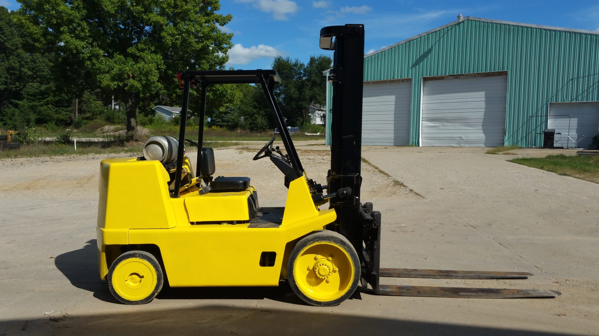 10,000lb. Capacity Yale Forklift For Sale 5 Ton