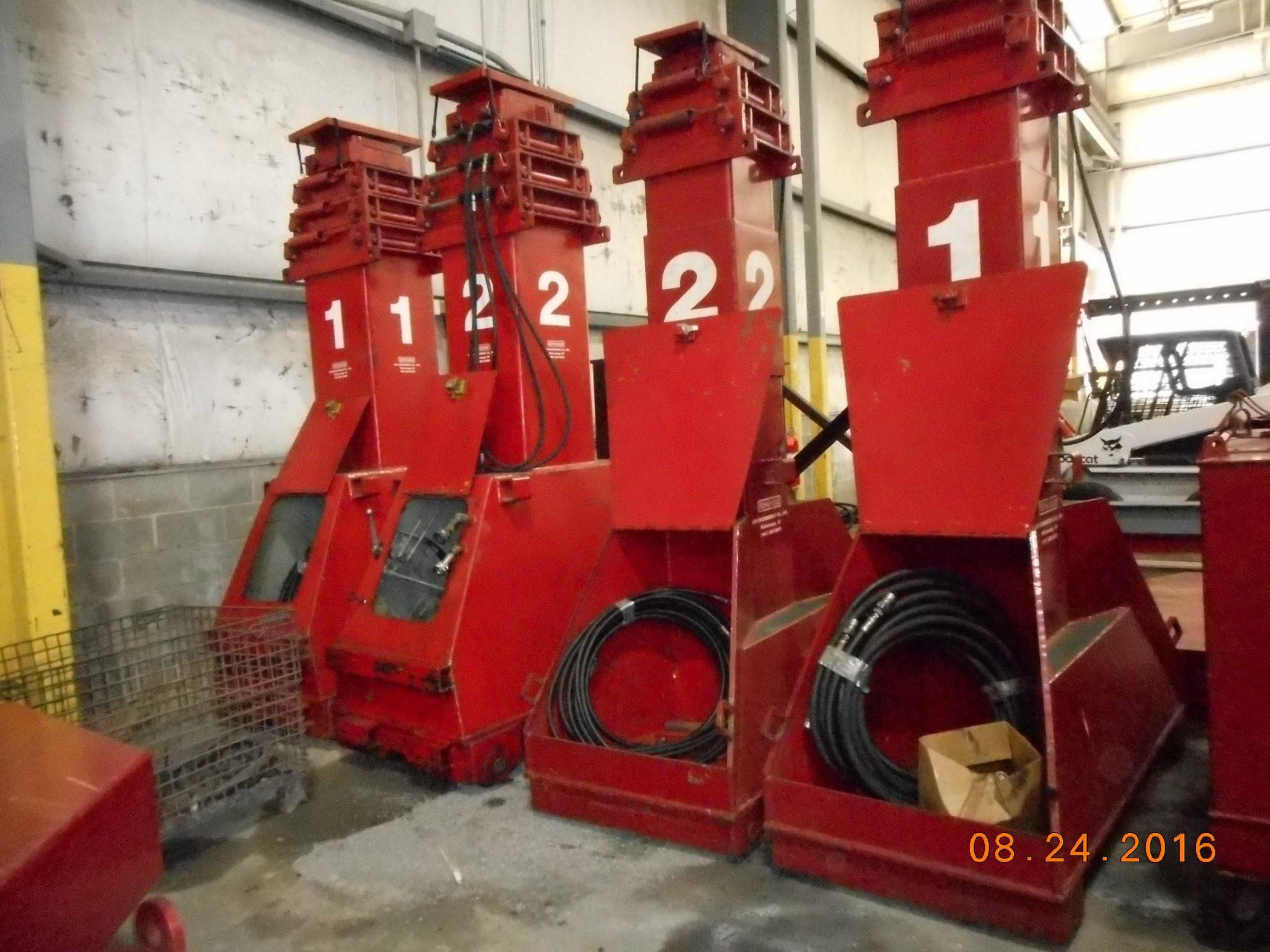 J&R Lift-N-Lock Hydraulic Gantry For Sale