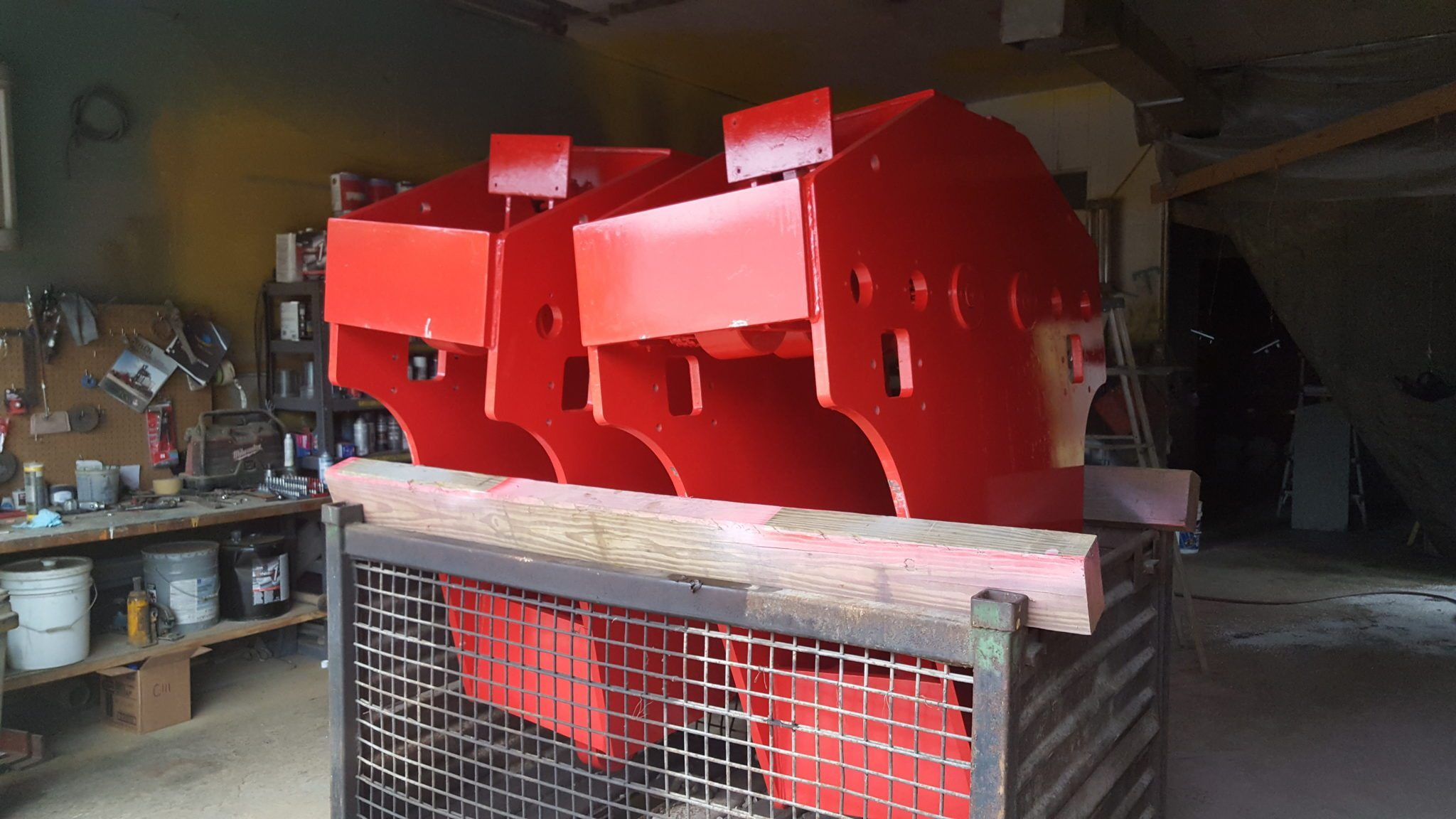100 Ton J & R Lift and Lock Traveling D-Rings For Sale (Two)
