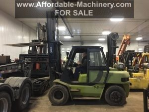 15,500lb. Capacity Clark Air-Tired Forklift For Sale - Used 7.75 Ton
