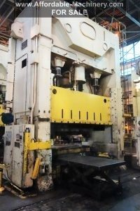 USI Clearing 600 Ton Press For Sale 2