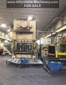 300 Ton Capacity Danly Straight Side Press For Sale