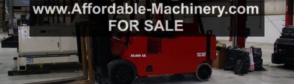 30,000lb Capacity Bristol Mini Rigger For Sale Used