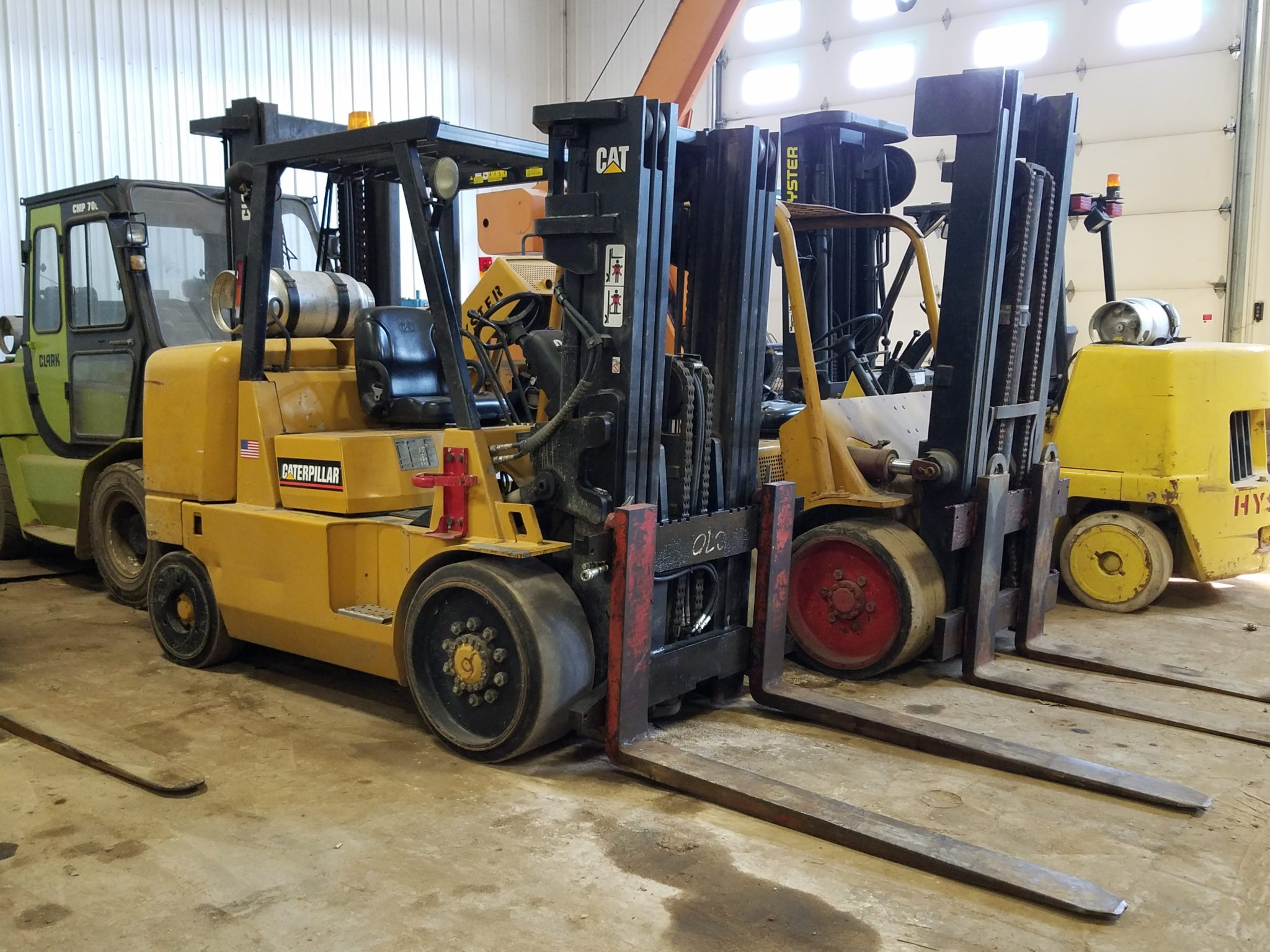 15,500lb. Capacity Cat Forklift For Sale 7.75 Ton