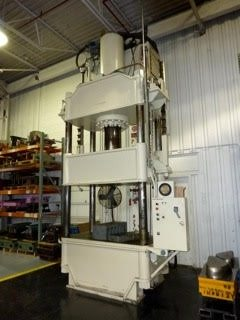 300 Ton Capacity Dake Four-Post Hydraulic Press For Sale