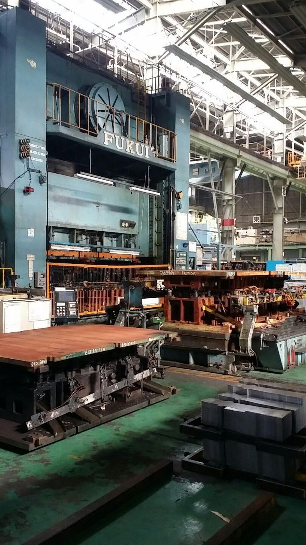 1,200 Ton Capacity Fukui 4-Point Transfer Press For Sale
