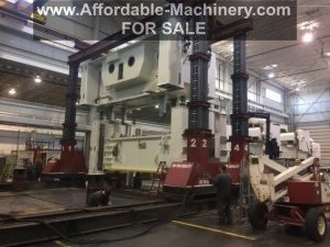 600 Ton Capacity J & R Lift -N- Lock Hydraulic Gantry For Sale