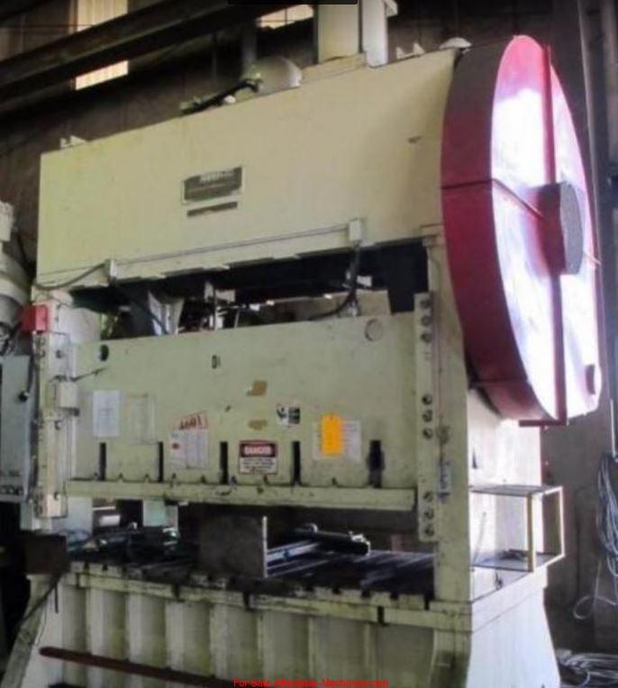 150 Ton Capacity Johnson Straigh Side Press For Sale