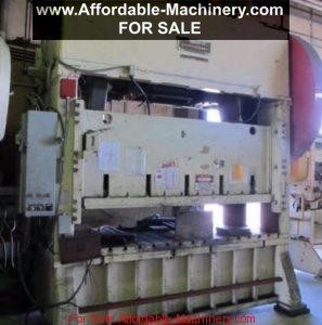 150 Ton Capacity Johnson Straigh Side Press For Sale